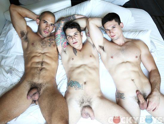 Austin Wilde, Anthony Romero & Pierre Fitch
