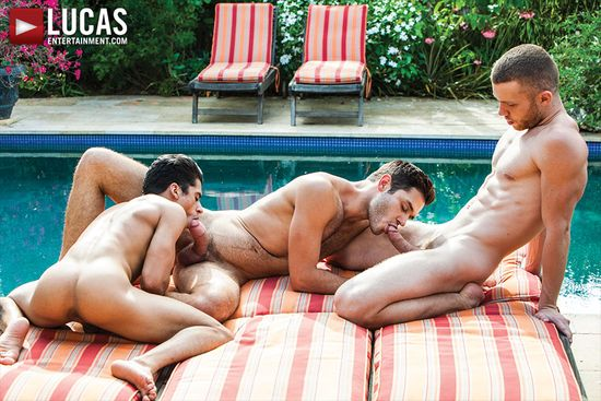 Jake Andrews And Leo Alexander Take Turns On Armond Rizzo