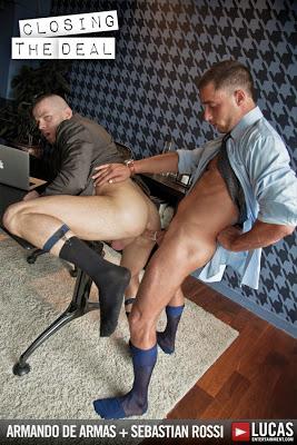 Sebastian Rossi Rides Armando de Armas' Dick