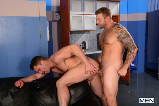 Colby Jansen and Travis James