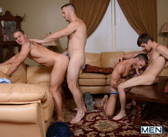 Johnny Rapid, Landon Conrad, Logan Vaughn, Paul Wagner