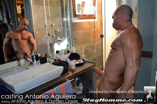 Stag Homme Studios Antonio Aguilera and Damien Crosse