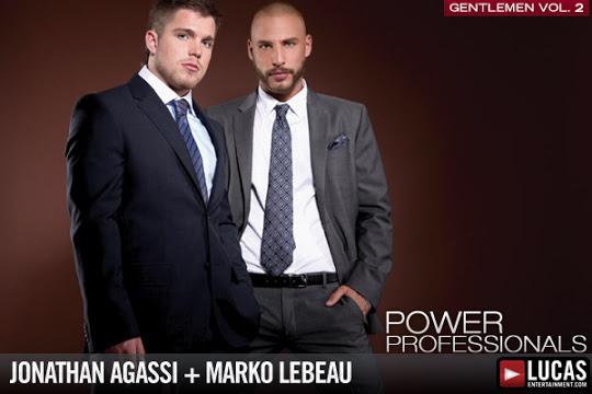 Execs Jonathan Agassi and Marko Lebeau Play in Public