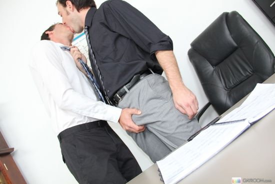 Jimmy Fanz in Office Cock Seduction