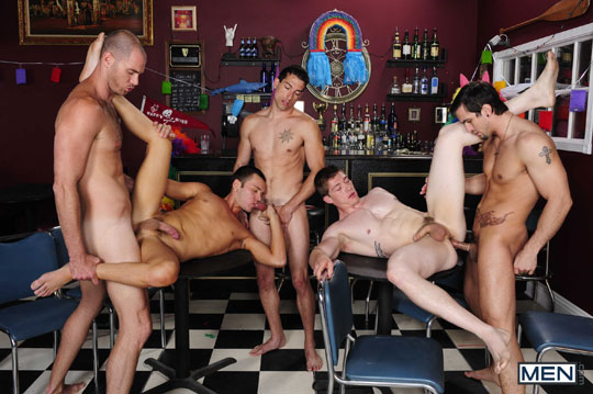 Cole Streets, Dominic Reed, Jay Dee White, Phenix Saint, Will Parks