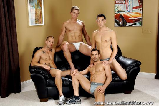 Rod Daily, Marcus Mojo, Zac, and Tyler Hunt