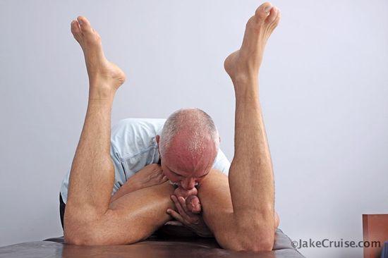 Tyler Hunt Massaged
