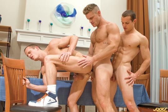 Luca Rosso, Liam Rosso and Landon Conrad