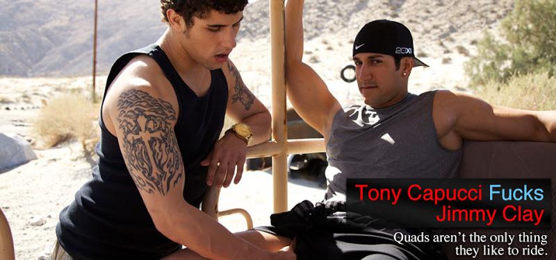 Jimmy Clay and Tony Capucci