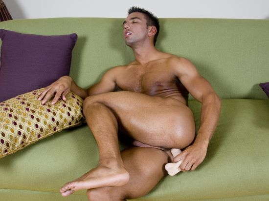 Lucky Daniels with Toy