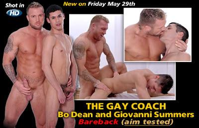 Bo Dean and Giovanni Summers BAREBACK