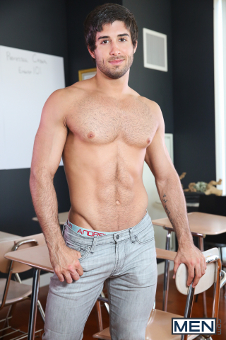 3 Diego Sans and Jack Hunter in Straight A Student Part 1