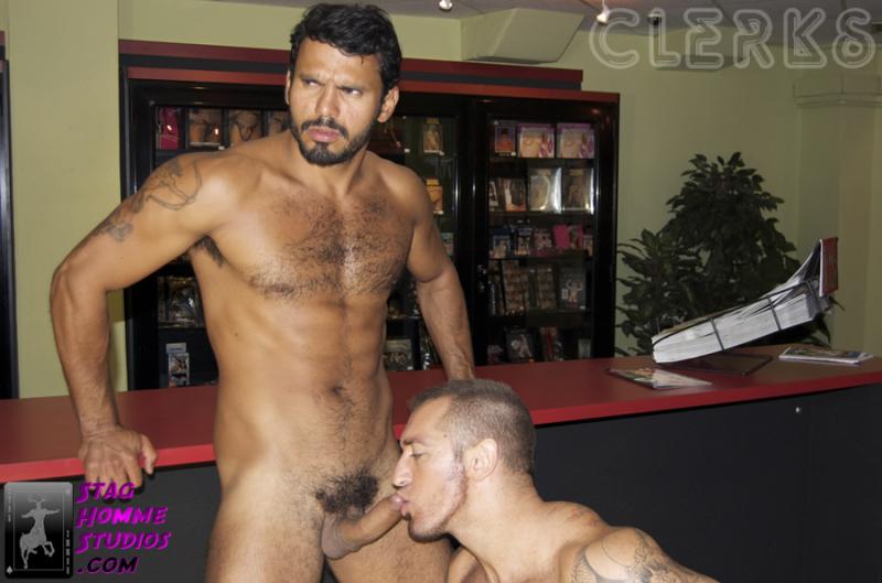 Clerks19 Jean Franko and Francesco DMacho
