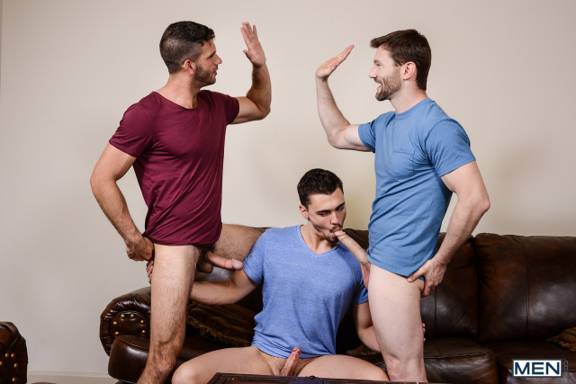13 Asher Hawk, Dennis West, and Jimmy Fanz in Naughty Boys Part 3