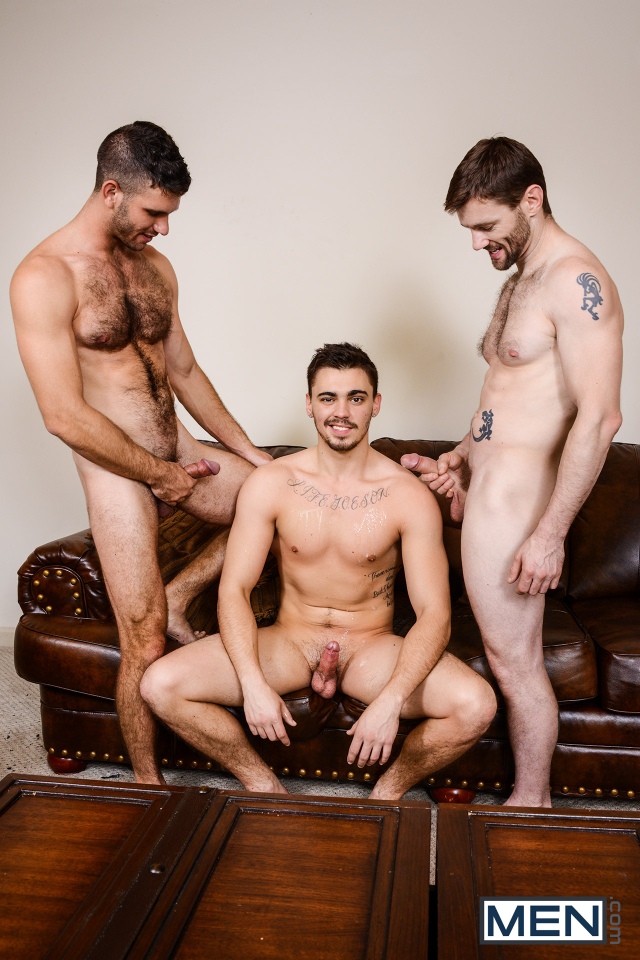 25 Asher Hawk, Dennis West, and Jimmy Fanz in Naughty Boys Part 3