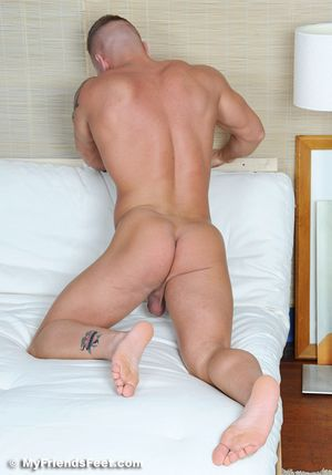 102 Tristan Gets Naked In His Flip Flops and Bare Feet