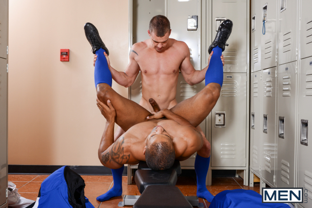 21 Darin Silvers and Robert Axel in Football DL Part 2