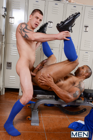 22 Darin Silvers and Robert Axel in Football DL Part 2