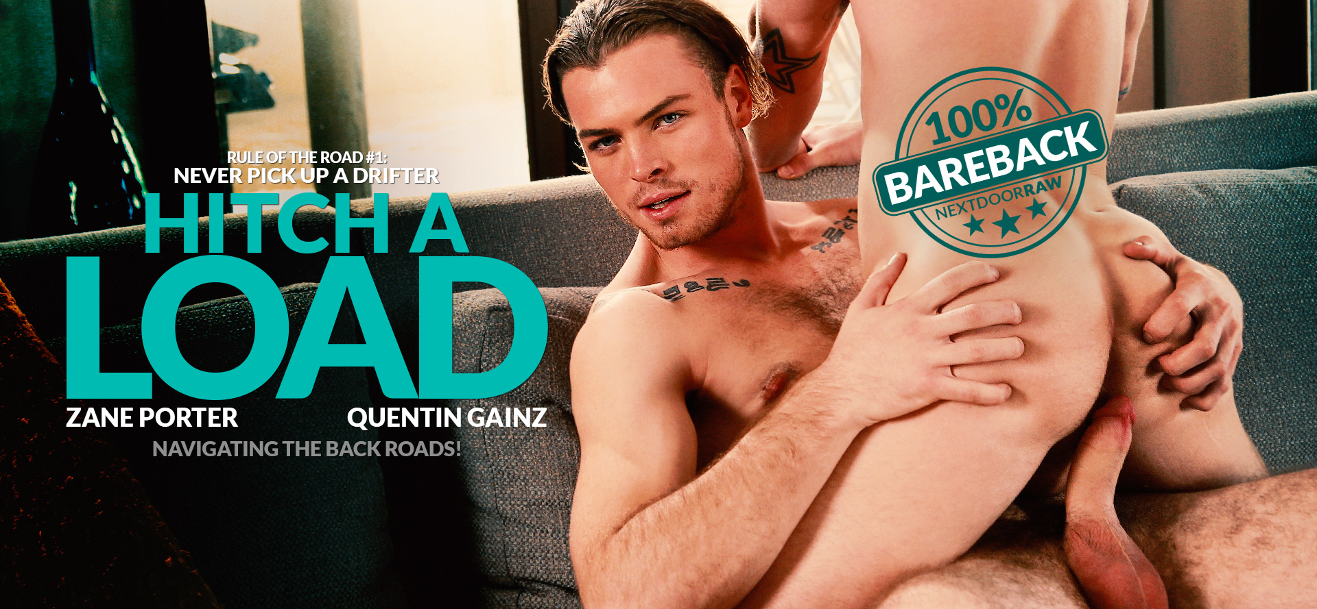 Zane Porter and Quentin Gainz in Hitch a Load