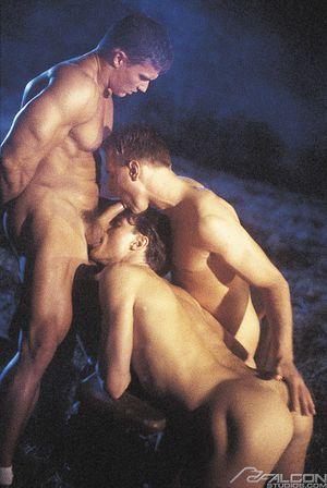 6319_004 Miklos Zsolt, Thomas Laszlo and Milos Csaba in Hungarian Heat, Scene 4