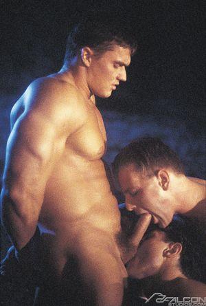6319_003 Miklos Zsolt, Thomas Laszlo and Milos Csaba in Hungarian Heat, Scene 4