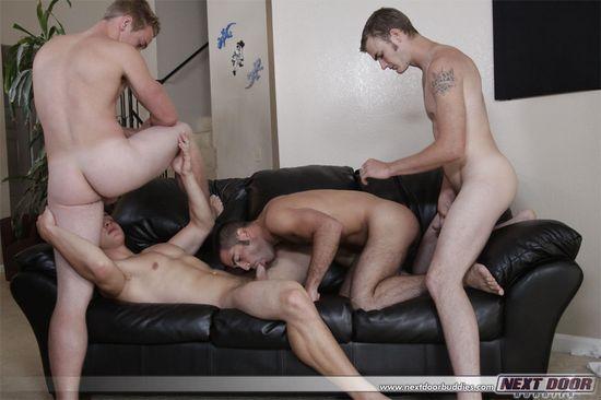 2855_020 Aaron Skyline, Christian Wilde, Dylan McLovin, Justin Ryder, Marcus Mojo