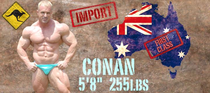 Thunder TV Wrestling Conan