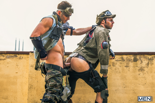 14 Dario Beck and Paddy O'Brian in Apocalypse Part 3