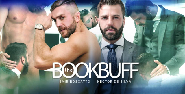 Men at Play The Book Buff Starring Hector de Silva and Emir Boscatto