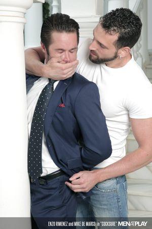 Enzo Rimenez and Mike De Marco in Cocksure_03
