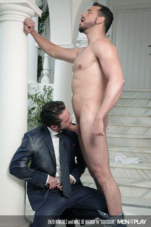 Enzo Rimenez and Mike De Marco in Cocksure_16