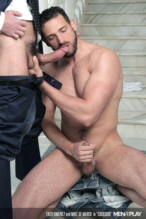 Enzo Rimenez and Mike De Marco in Cocksure_22