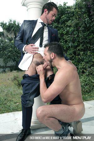 Enzo Rimenez and Mike De Marco in Cocksure_17