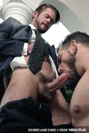 Enzo Rimenez and Mike De Marco in Cocksure_01