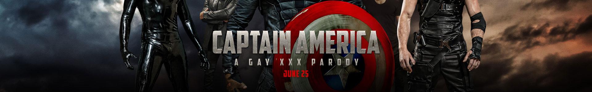 Captain America : A Gay XXX Parody