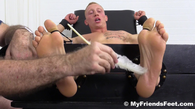 Cristian Tickled In Tickle Chair