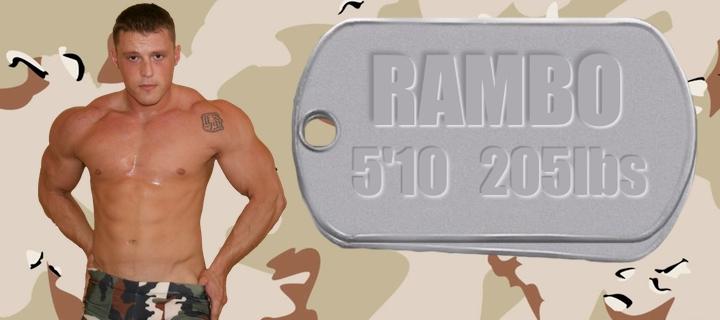 Wrestler Rambo