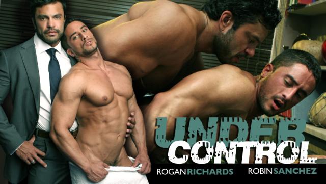 Men at Play Under Control Starring Rogan Richards and Robin Sanchez