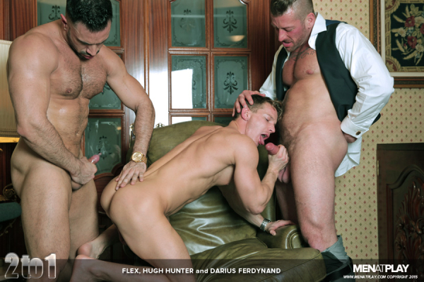 from Santana male threesome fuck video gay