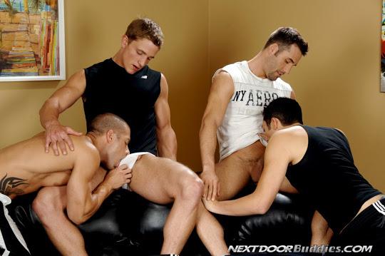 Rod Daily, Marcus Mojo, Zac, Tyler Hunt