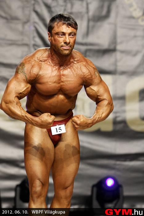 Szabó Attila - 2012 WBPF World Cup Bodybuilding Championship