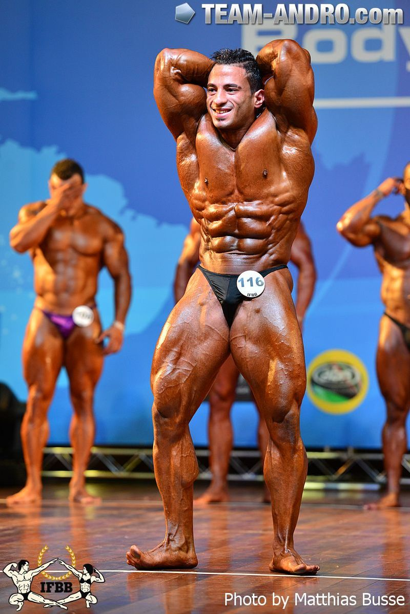2014 IFBB Men's World Amateur Bodybuilding Championships