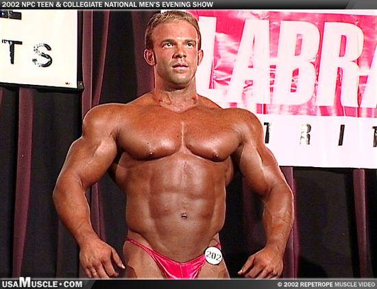 Derek Springer - 2002 NPC Collegiate National Championships