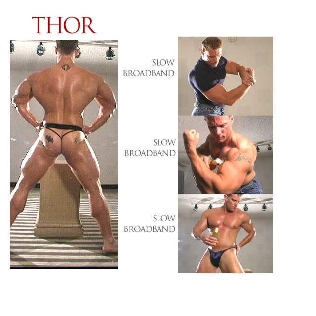 Thor in Cinema 142: Muscle Master From Muscle-Worship Archives