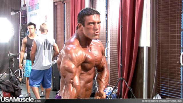 2011 NPC National Championships Men's Bodybuilding Pump Room Part 3