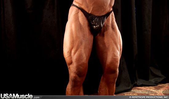 2009 NPC National Bodybuilding Championships Men's Backstage Posing Part 3