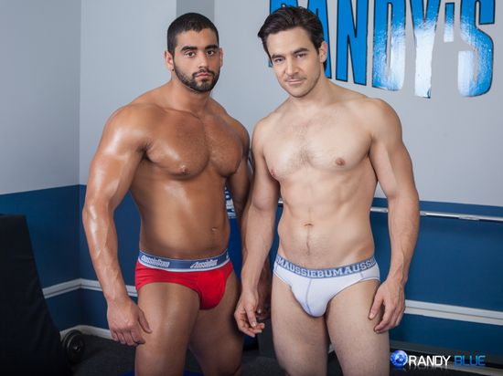 Chris Rockway and Angelo Antonio