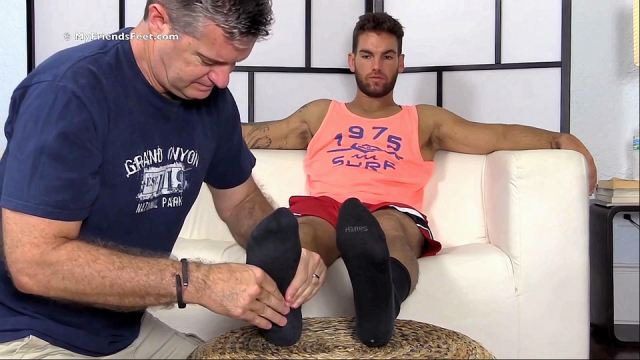 Chase Is A Dominant Foot & Sock Master
