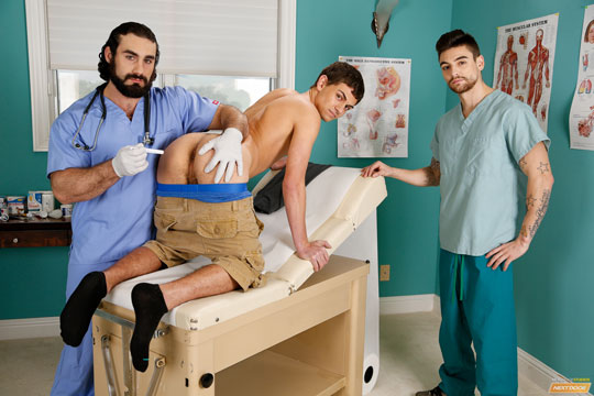 Johnny Torque, Kevin Summers, Jaxton Wheeler in Doctors' Double Dose