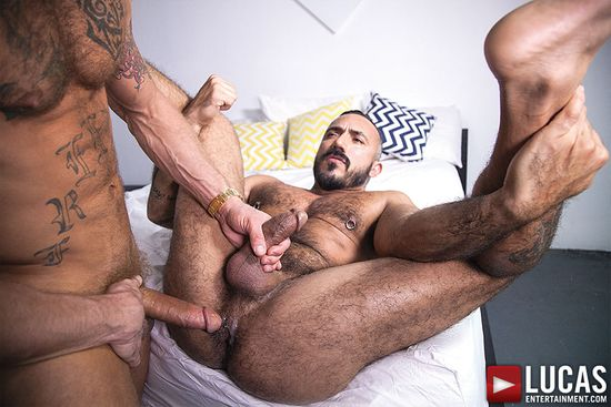 Alessio Romero And Derek Parker Fuck Each Other Raw